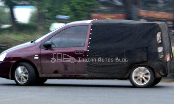 Tata-Indica-XL Spy shot