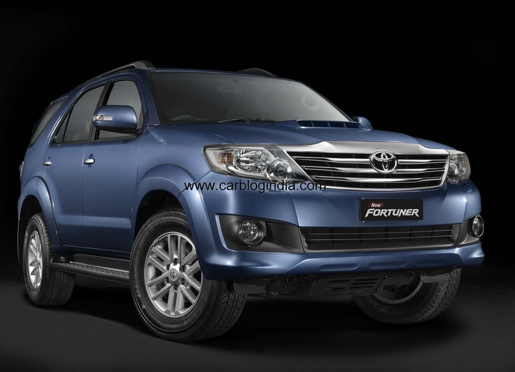 New Model Toyota Fortuner 2012 India Price List Pictures Features Specifications Variants