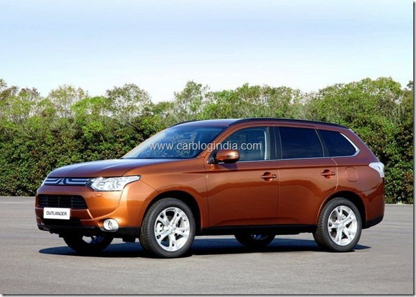 Mitsubishi Outlander 2013 New Model Official Picture (7)