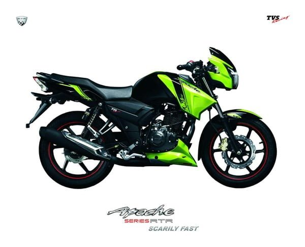 2012 TVS Apache RTR Launched In India