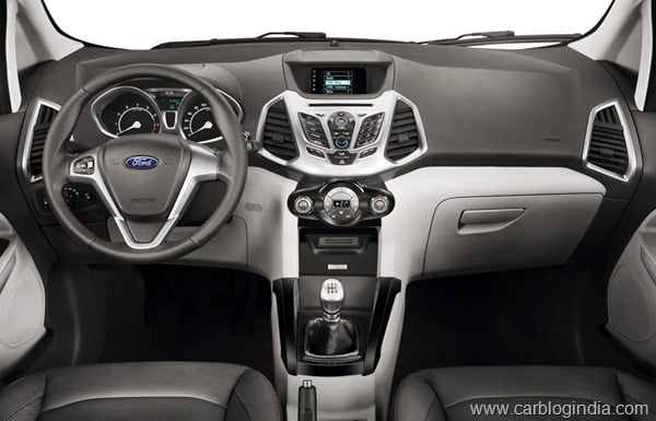 Ford EcoSport 2012 Production Version Official Pictures (1)