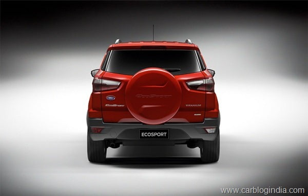 Ford EcoSport 2012 Production Version Official Pictures (5)