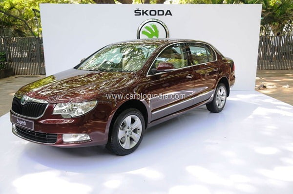 Skoda Superb Ambition launched in India