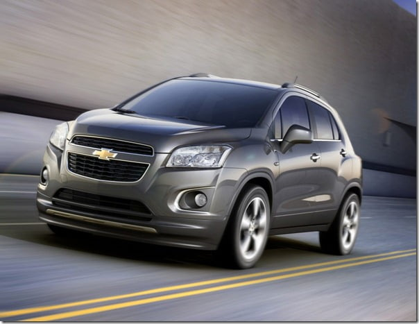 Chevrolet Trax Compact SUV From General Motors