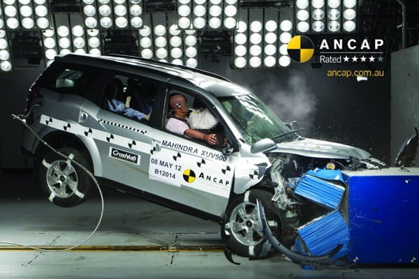 Mahindra XUV500 Crash Test Image
