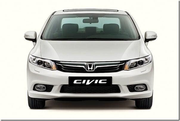 2012 Honda Civic Malaysia front