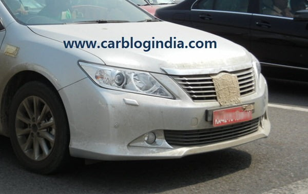 2012 Toyota Camry India Spy Pictures By CarBlogIndia.com (9)