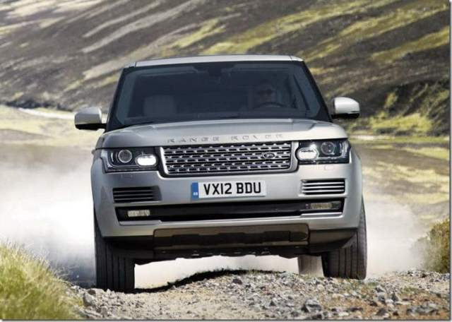 2013 Land Rover Range Rover SUV front