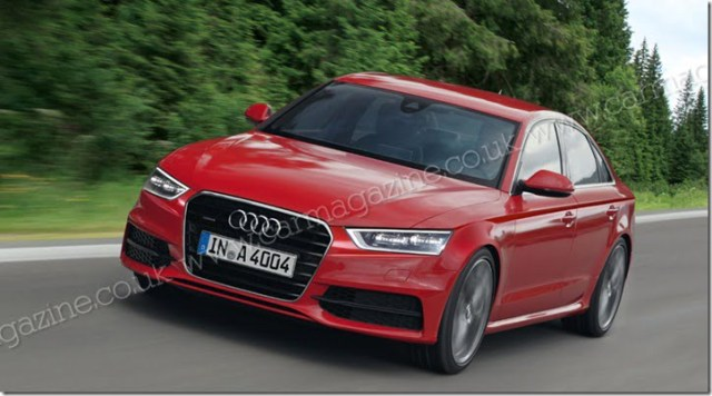 2014 Audi A4 Scoop Pictures (1)