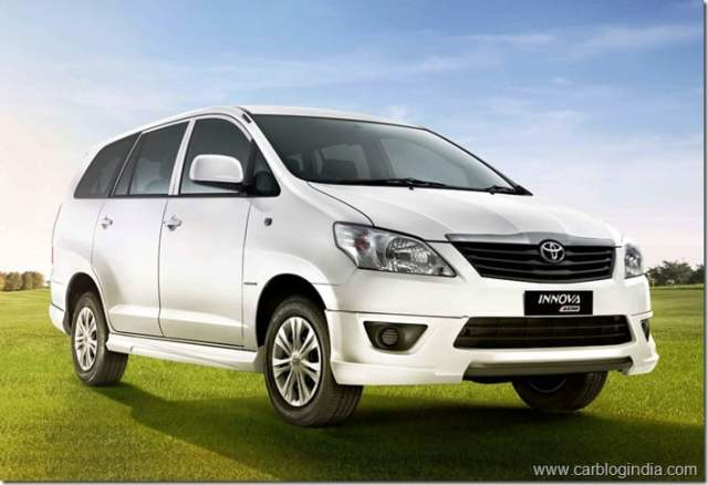2012 Toyota Innova Aero Edition Price and Features