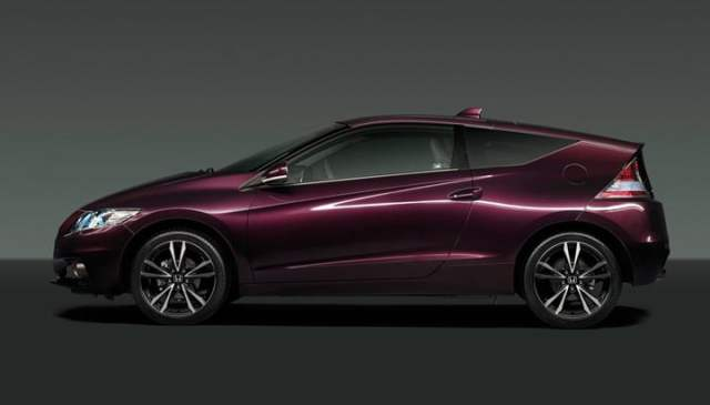 2013 Honda CR-Z side