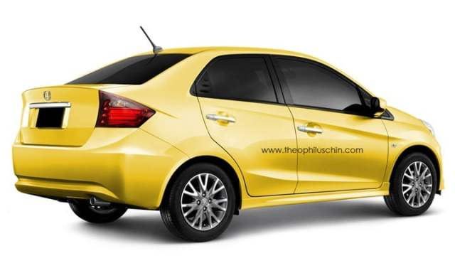 Honda Brio Diesel Sedan India (2)