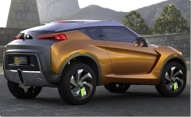 Nissan Extrem Concept Crossover Brazil rear