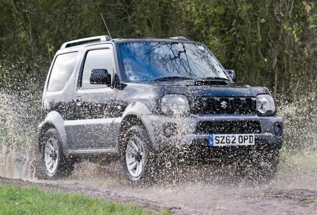 2013 Suzuki Jimny Updated Model UK 1