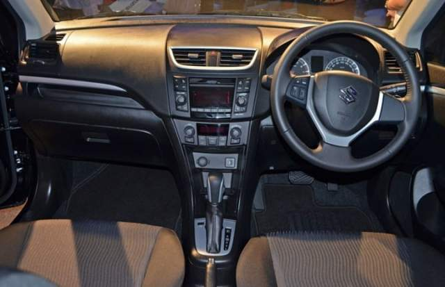 2013 Maruti Suzuki Swift Automatic Interiors