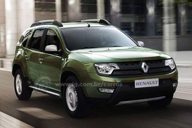 Renault Duster Facelift New Model