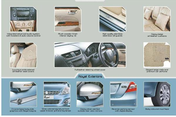 Maruti Regal Limted Edition Features