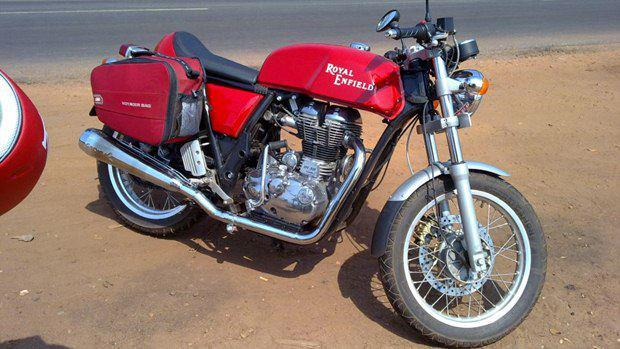 Royal Enfield Cafe Racer 535