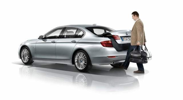 2014 BMW 5 Series Comfort Access System