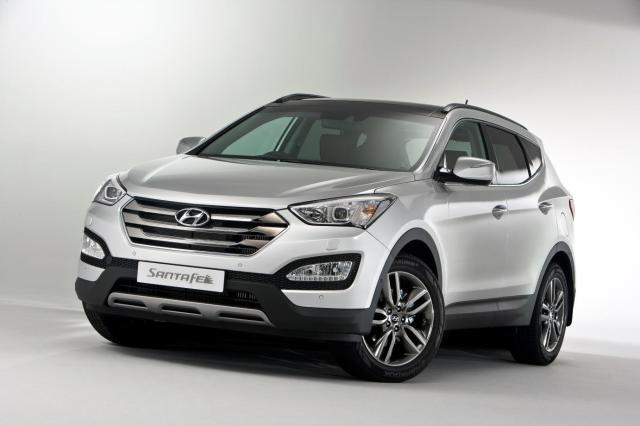 2014 Hyundai Santa Fe - UK Version