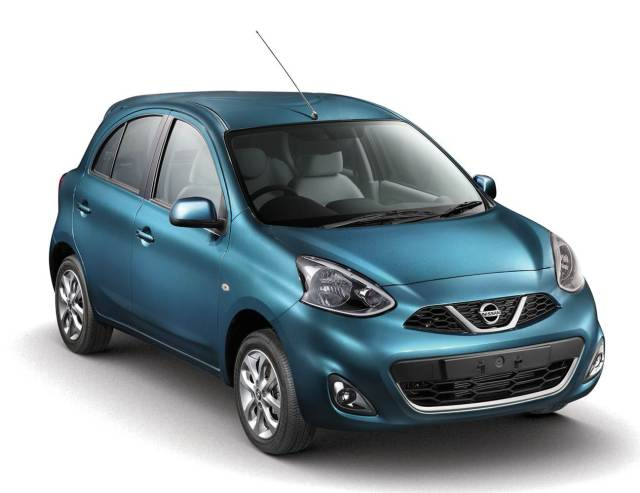 2013 Nissan Micra XE diesel Front Right Quarter