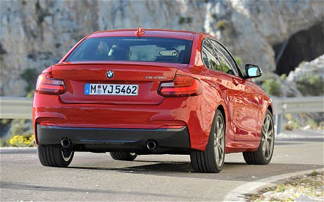 2014 BMW 2-Series Rear Right Quarter