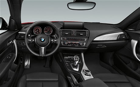 2014 BMW 2-Series Interior Driver View