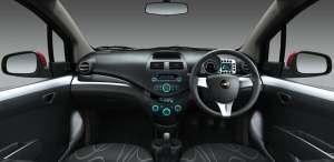 Chevrolet Beat Interior Front Cabin