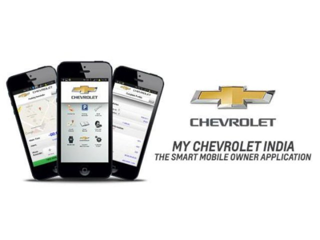 My Chevrolet India Smart Phone App