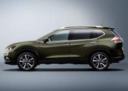 2014 Nissan X-Trail Left Side Profile