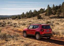 2015 Jeep Renegade Rear Left Quarter