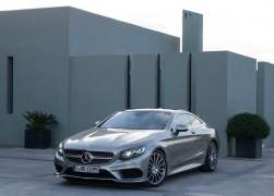 2015 Mercedes-Benz S-Class Coupe Front Left Quarter