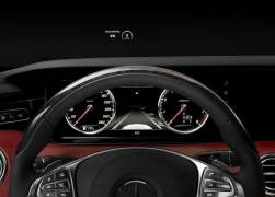 2015 Mercedes-Benz S-Class Coupe Interior Instrument Cluster HUD