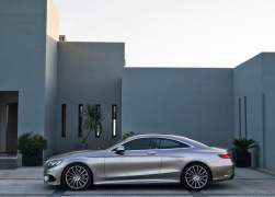 2015 Mercedes-Benz S-Class Coupe Left Side Profile