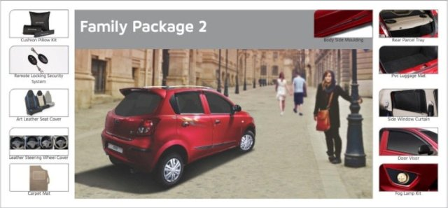 Datsun Go Accessories Package Family 2