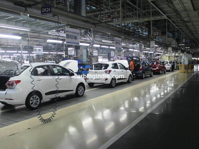 Hyundai India Factory Final Assembly