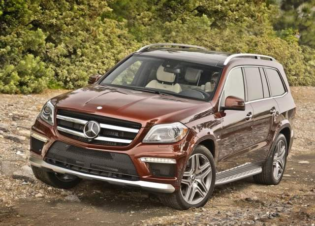 2013 Mercedes-Benz GL63 AMG Front Left Quarter