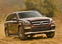 2013 Mercedes-Benz GL63 AMG Front Right Quarter