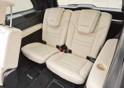 2013 Mercedes-Benz GL63 AMG Interior Rear Cabin