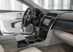2015 Toyota Camry Interior Front Cabin Passenger Side View