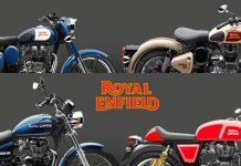 Royal Enfield New Paint Schemes Featured Image