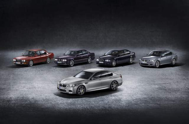 Celebrating the Evolution of the BMW M5.