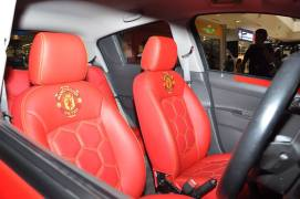Chevrolet Beat Manchester United Special Edition Interior Front Seats