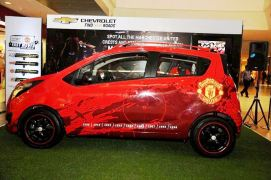 Chevrolet Beat Manchester United Special Edition Left Side