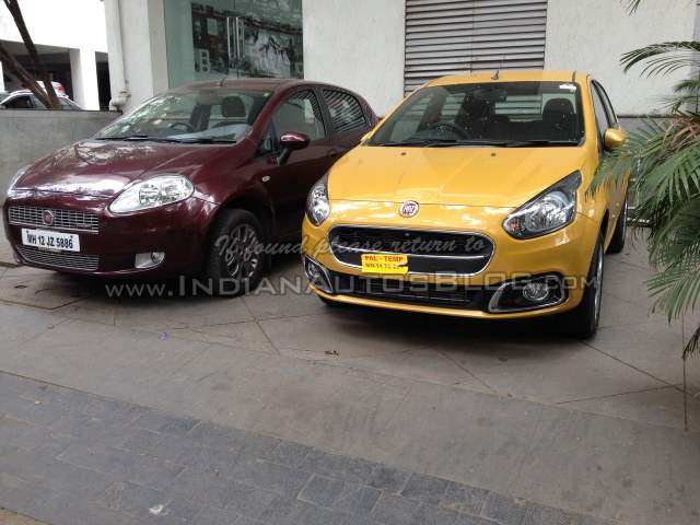 Fiat Punto Evo and Punto Front Left