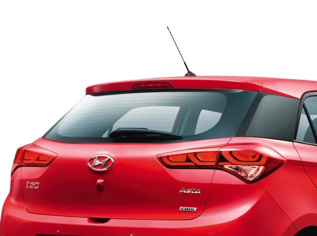 New Elite Hyundai i20 Rear Wiper and Tail-lights