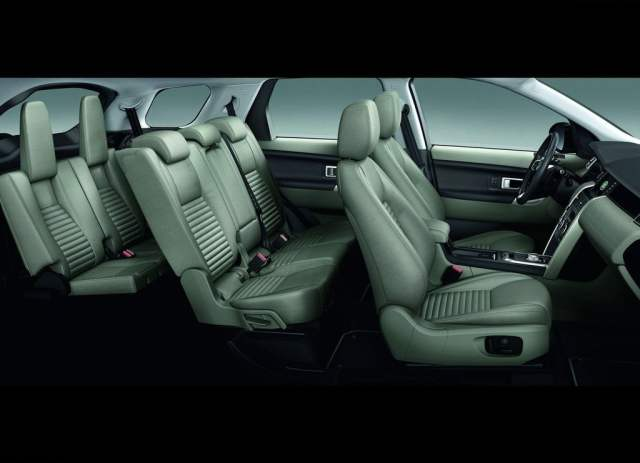2015 Land Rover Discovery Sport Interior Cabin
