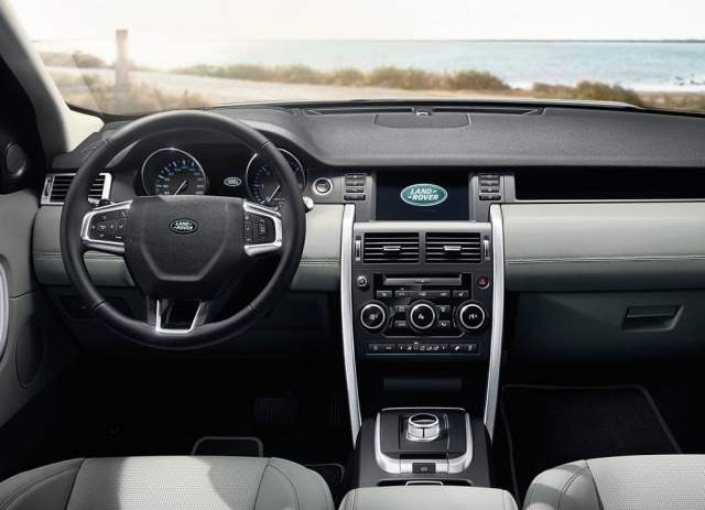 2015 Land Rover Discovery Sport Interior Front Dashboard