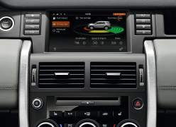 2015 Land Rover Discovery Sport Interior Infotainment Screen