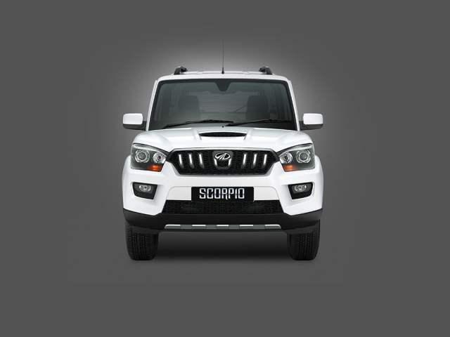 Mahindra Scorpio Facelift Front